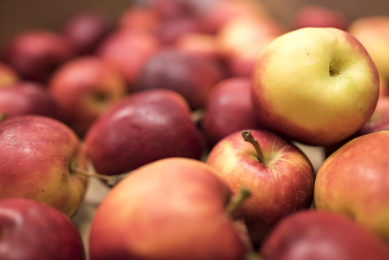 Billede af æbler